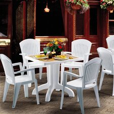 Daytona 5 Piece Square Dining Set