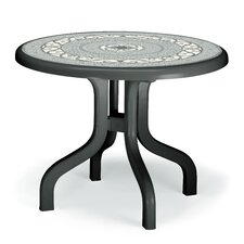 Ribalto Round Resin Dining Table