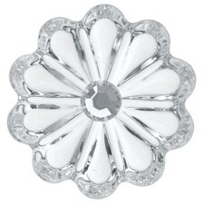 French Crystal Rosette Decorative Pendants (Set of 6)