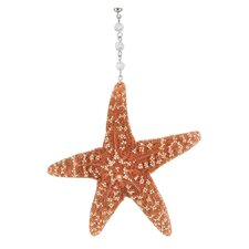 Beach Nautical Sugar Starfish Decorative Accent (Set of 3)
