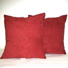 Faux Suede Decorative Pillow (Set of 2)