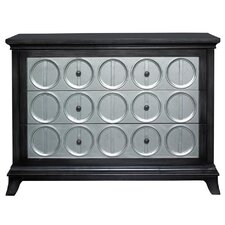3 Drawer Chest with Circles