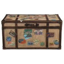 <strong>HGTV Home</strong> Khaki Travel Cocktail Trunk