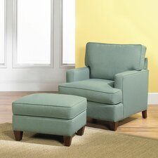 Park Avenue Club Chair and Ottoman