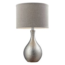 "Overexposed 21.5"" H Table Lamp with Drum Shade"