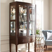 <strong>HGTV Home</strong> Modern Heritage Convex China Cabinet