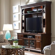 "Modern Heritage 79"" TV Stand with Hutch"