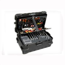 """Military-Ready"" Master Mechanic 3 Pallet Case (with built-in cart): 12"" H x 25"" W x 15"" D"