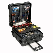 """Military-Ready"" Square Tool Case (with built-in cart): 11"" H x 19"" W x 19"" D"