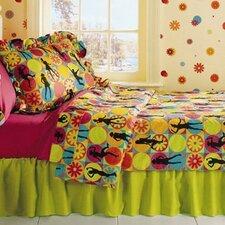 Flower Power 3 Piece Comforter Set