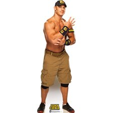 John Cena Navy and Gold - WWE Cardboard Stand-Up