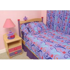 <strong>Room Magic</strong> Little Girl Tea Set 3 Piece Duvet Set