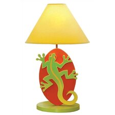 "Little Lizards 18"" H Table Lamp with Empire Shade"