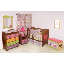 Magic Garden 2-in-1 Convertible Crib Set