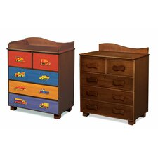 Like Trucks 5-Drawer Chest