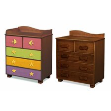 <strong>Room Magic</strong> Tropical Seas 5-Drawer Chest
