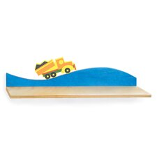Boys Like Trucks Wall Shelf