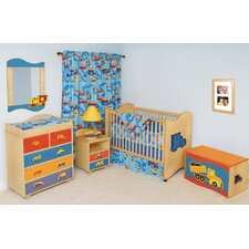 Boys Like Trucks 2-in-1 Convertible Crib Set