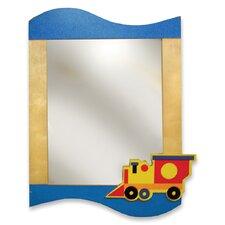 Boys Like Trucks Rectangular Dresser Mirror