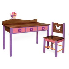 Magic Garden Kids' 2 Piece Table and Chair Set