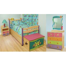 Tropical Sea Twin Slat Bedroom Collection
