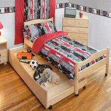Natural Twin Bed