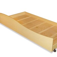 Natural Trundle Box for Twin Bed