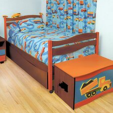 Boys Like Trucks Twin Bed