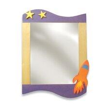 Star Rocket Rectangular Dresser Mirror