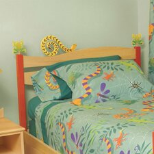 Little Lizards Panel Headboard
