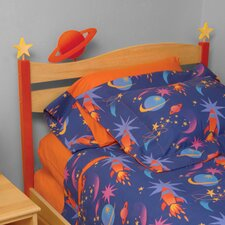 Star Rocket Twin Panel Headboard
