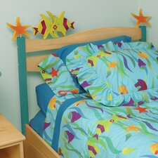 Tropical Seas Twin Panel Headboard