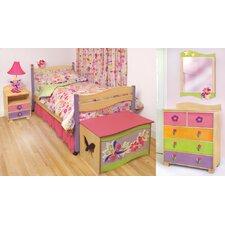 Magic Garden Twin Slat Bedroom Collection
