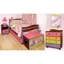 Magic Garden Twin Slat Bedroom Collection