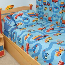 <strong>Room Magic</strong> Boys Like Trucks Comforter Set