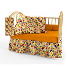 Zoo 4 U 4 Piece Crib Bedding Set