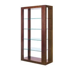 "Dado Wall 72"" Bookcase"