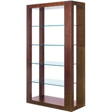 "Dado Wall 72"" Bookcase"