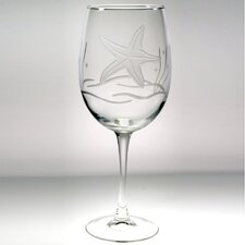 <strong>Rolf Glass</strong> Starfish Large Wine Glass (Set of 4)
