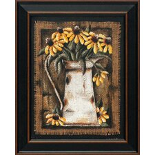 <strong>Artistic Reflections</strong> Black Eyed Susans Wall Art