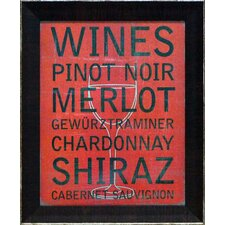 Wine Variety Wall Art