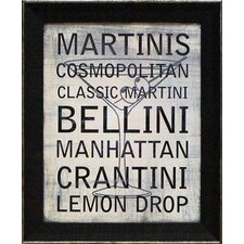 <strong>Artistic Reflections</strong> Martini Variety Wall Art
