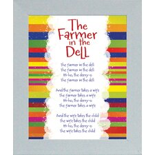 The Farmer In The Dell Print Art