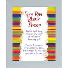 Baa Baa Black Sheep Print Art