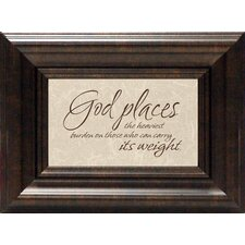 <strong>Artistic Reflections</strong> God Places Print Art