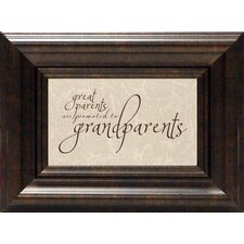 <strong>Artistic Reflections</strong> Great Parents Print Art
