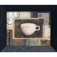 Cappuccino Framed Graphic Art