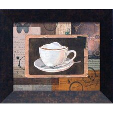 Vintage Latte Framed Art