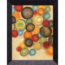 Colorful Whimsy I Framed Art