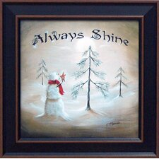 <strong>Artistic Reflections</strong> Always Shine Framed Art